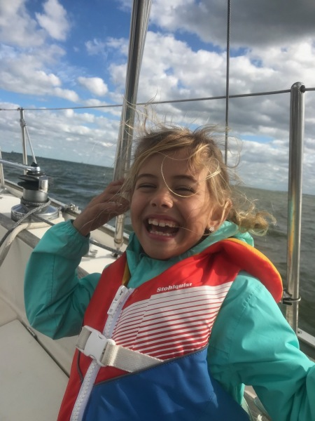 Averie sailing