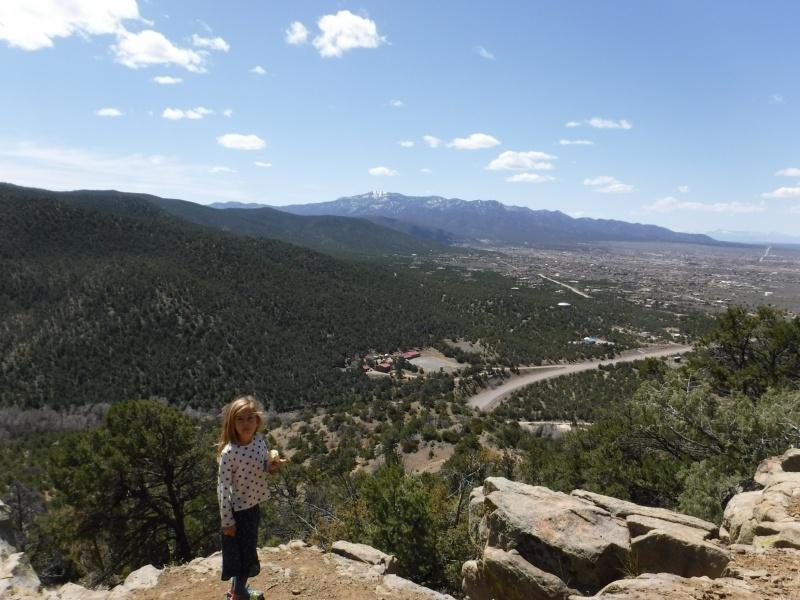 Hiking in Taos