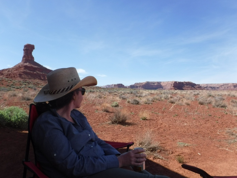 Boondocking in the Valley of the Gods