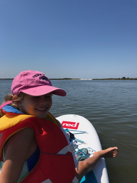 paddling Jane's island