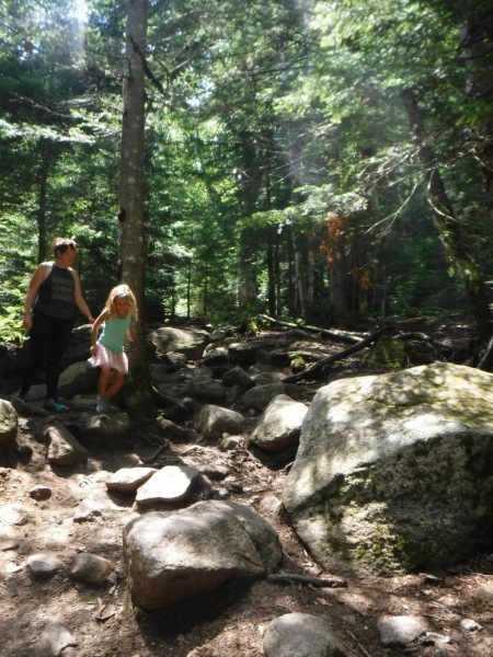 Lonesome lake hike